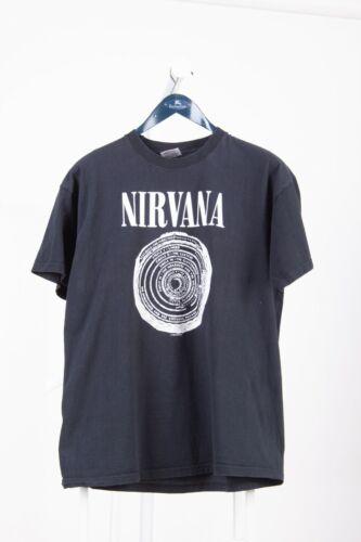 Vintage 1996 NIRVANA VESTIBULE T-shirt Band Kurt C
