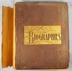 Book-Of-Biographies-Berks-County-PA-Pennsylvania-Antique-Book-1898-O-AS-IS-1