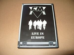 FM-Live-in-Europe-DVD-2012-dvd-is-Ex-condition-no-booklet