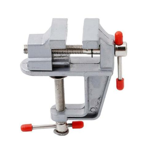 Miniature Vise Jewelers Hobby Clamp On Table Bench Tool Vice Aluminum Hot LT