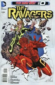 Image Is Loading THE RAVAGERS 0 DC NEW 52 COMIC BOOK