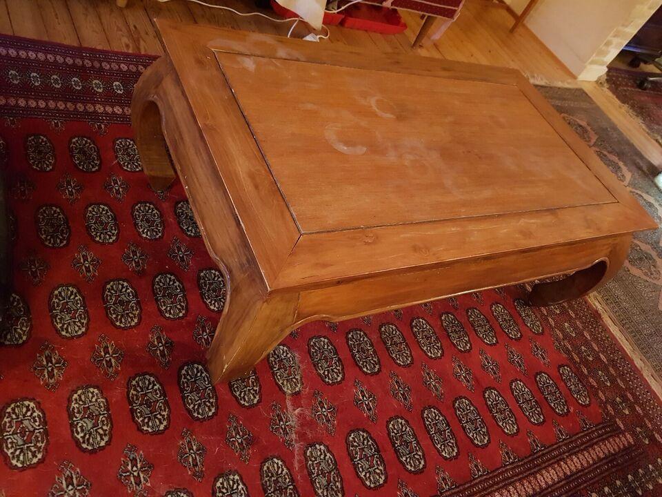 Sofabord, Træ bord