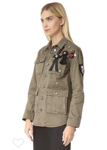 Medium Sept M Canyon Militaire Kralen Cinq Vrouwen Jas A Jewel Verfraaid CzT5w4qx