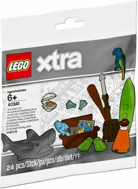 Lego City Xtra Sea Accessories Brand New in Bag 40341