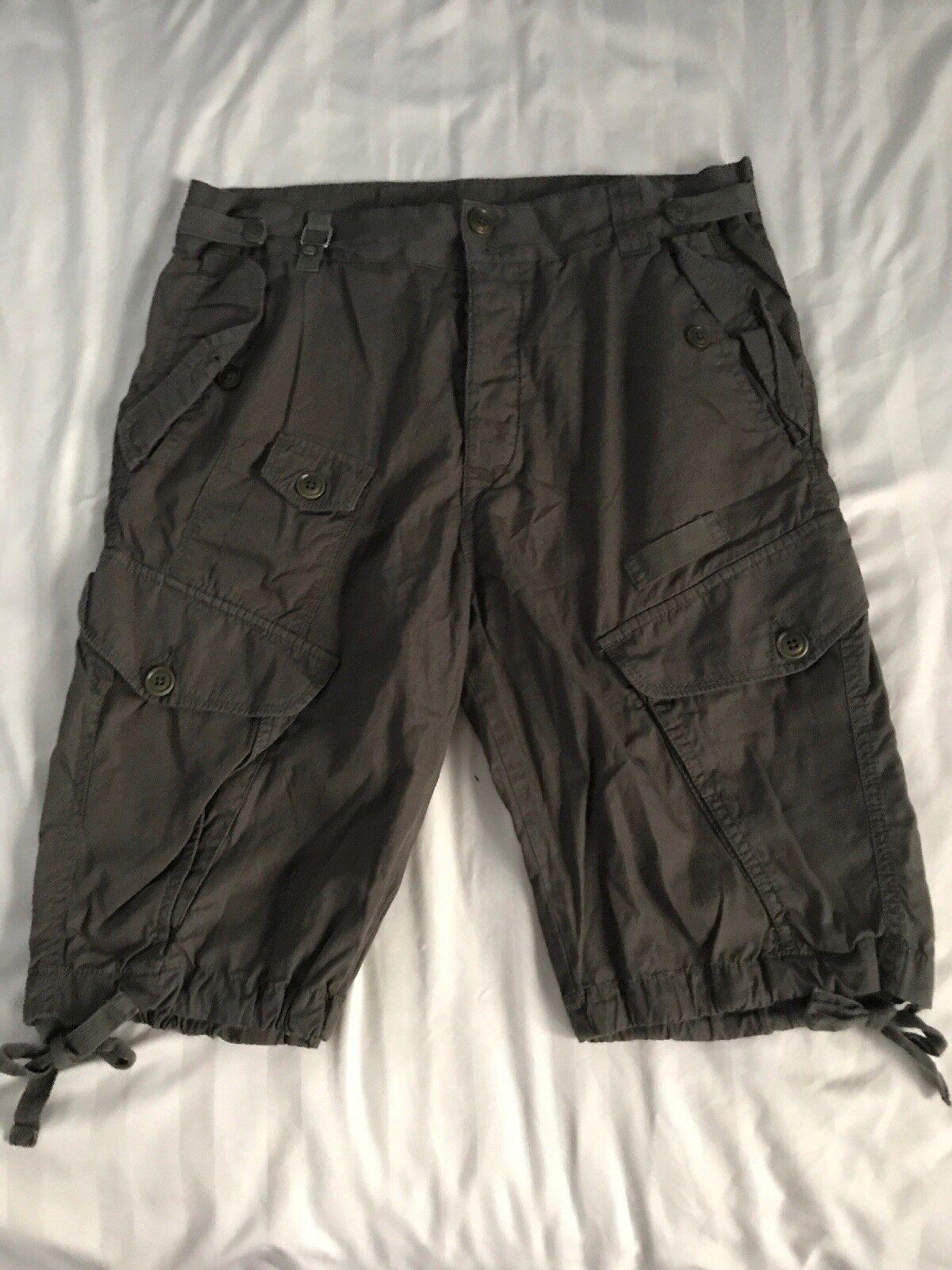 Diesel Brown Cargo Shorts  Men's Size 28 SC8
