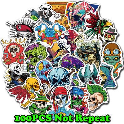 50Pcs Terror Series Sticker Graffiti Skateboard Suitcase Laptop Guitar Stickers