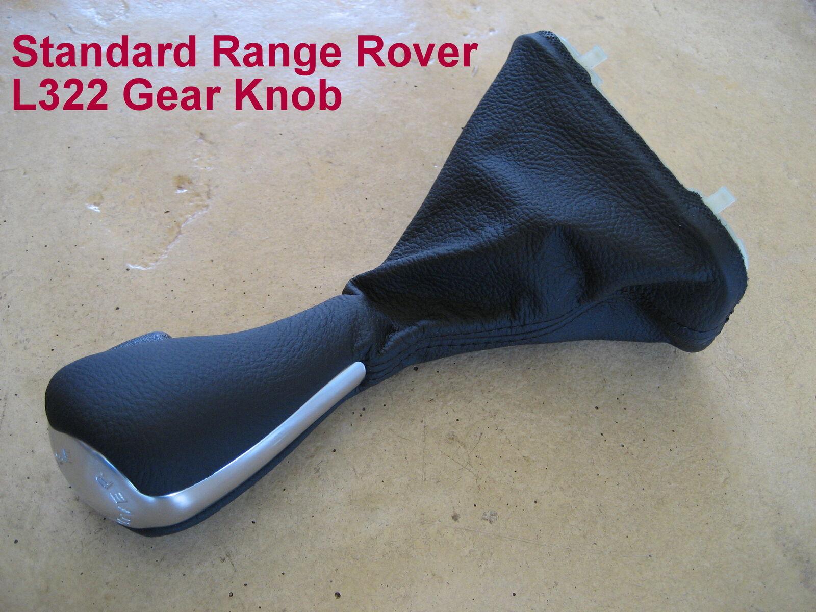 Range Rover L322 autobiographie Gear Knob Stick Noir Piano VOGUE Shift