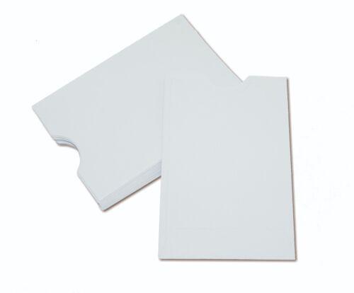 Credit Debit ATM ID Key Gift Card Holder Protector Sleeve Envelope 3.75 x 2.5
