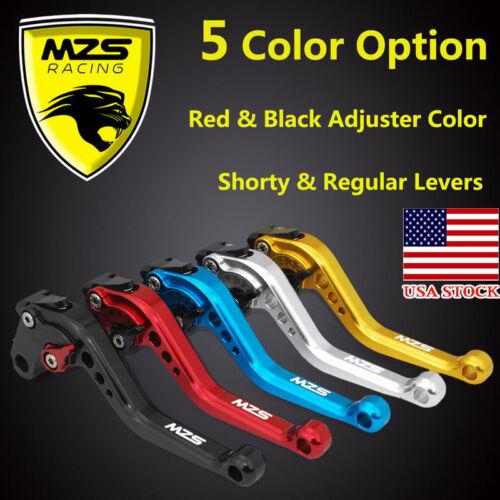 MZS Brake Clutch Levers for Honda CBR600 F2,F3,F4,F4i 1991-2007 Short 146MM US