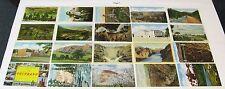 1930's 1940's 1950's LINEN Postcard Lot ~ COLORADO ~ 80 Postcards, Free Shipping