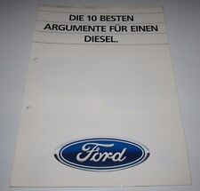Auto Prospekt Katalog Ford Die 10 besten Argumente für einen Diesel Alle Modelle