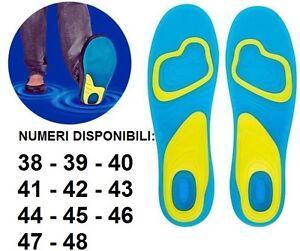 Coppia-plantari-solette-in-GEL-ACTIV-uomo-donna-38-39-40-41-42-43-44-45-46-47-48