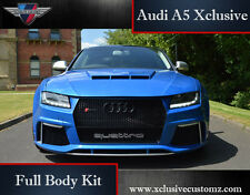 Audi A5 Xclusive Full Wide Arch Body Kit A5 RS5 S5 Conversion Coupe Convertible