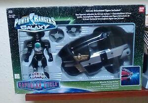 Power Rangers Lost Galaxy - Cycle Capsulaire Bandai 2000 Nouveau Nuevo! Nrfb!