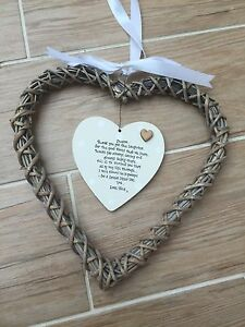 Shabby-personalised-Chic-EXTRA-LARGE-Special-Best-Sister-Willow-heart-Gift