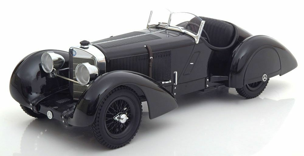Kk Escala Modelos 1930 Mercedes Benz Ssk Conde Trossi nero Prinz 3000 0.1cm Stk