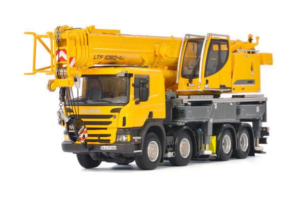 WSI 04-1169 Liebherr LTF 1060-4.1 Mobile Crane with Scania Cab Die-cast 1 50 MIB