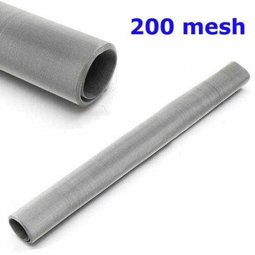 """200 Mesh 75 Micron 304 Stainless Steel Fine Pollen dry Ice Screen 12x24/"""""""