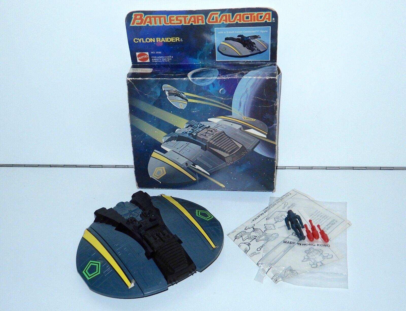 Battlestar galactica zylonischer jäger originalverpackt 1978 mattel