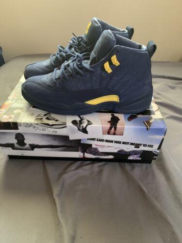 Nike Air Jordan Retro 12 Michigan PE Size 11