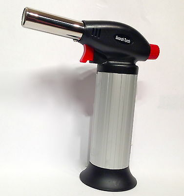 Butane Torch Professional Soldering Repair Kitchen Prep Brazing Creme Brulee HOT