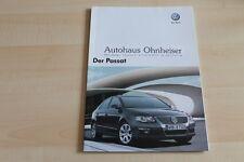 79485) VW Passat Prospekt 10/2007
