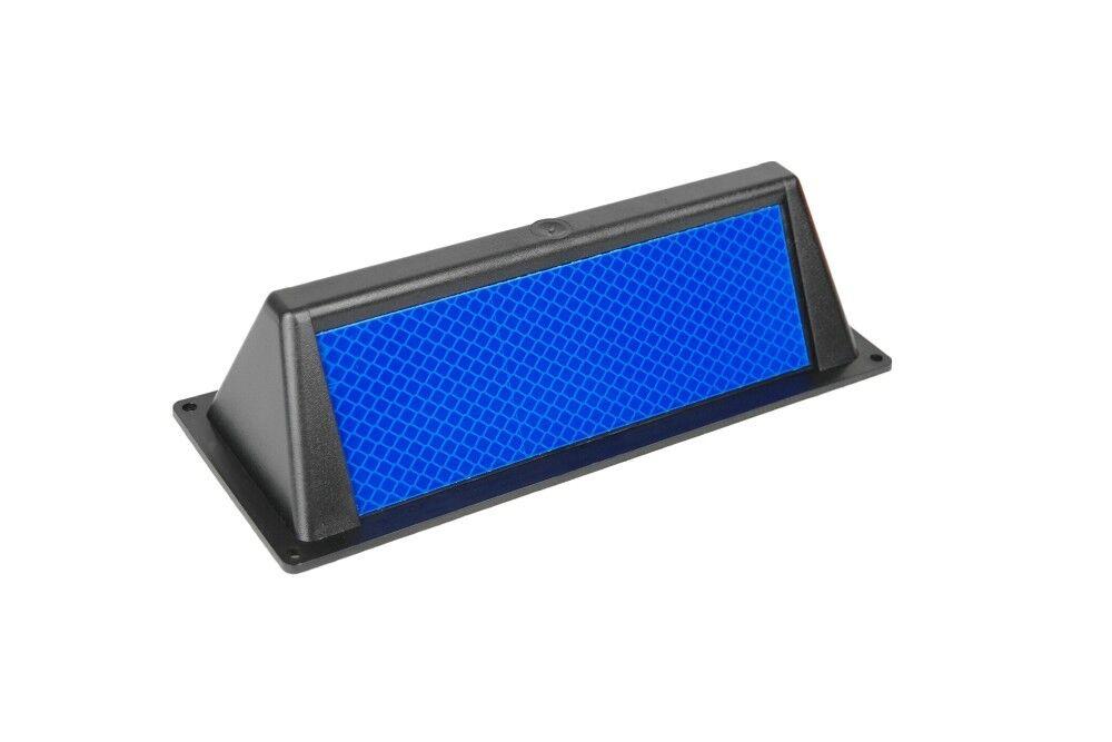 10x 10x 10x Wildwarner Wildwarnreflektor 3M™ Reflexfolie blau Typ3 inkl. Schrauben bd4b3c