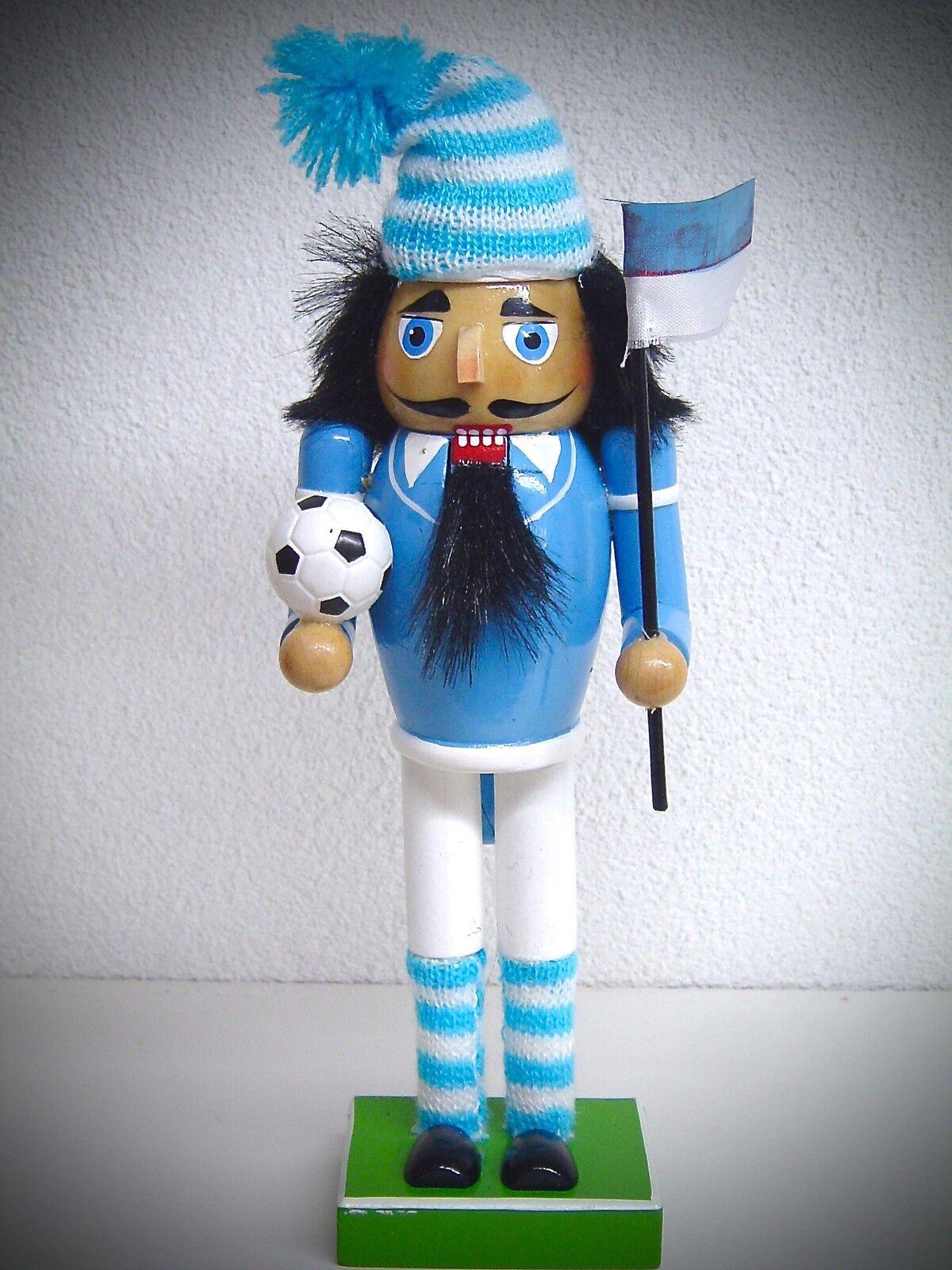 """Nussknacker /""""Soldat/"""" blau aus Holz 15cm 52 0223B"""