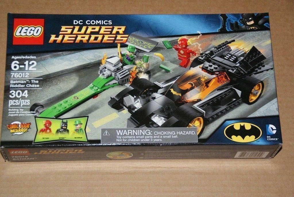 LEGO DC Universe Super Heroes Batman The Riddler Chase (76012) neuf en boîte scellée