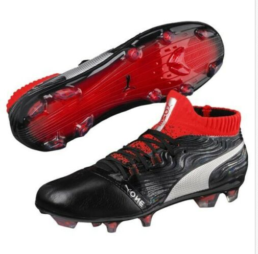 Youth Puma One 18.1 FG Soccer Cleats 10453101 Dimensione 4C