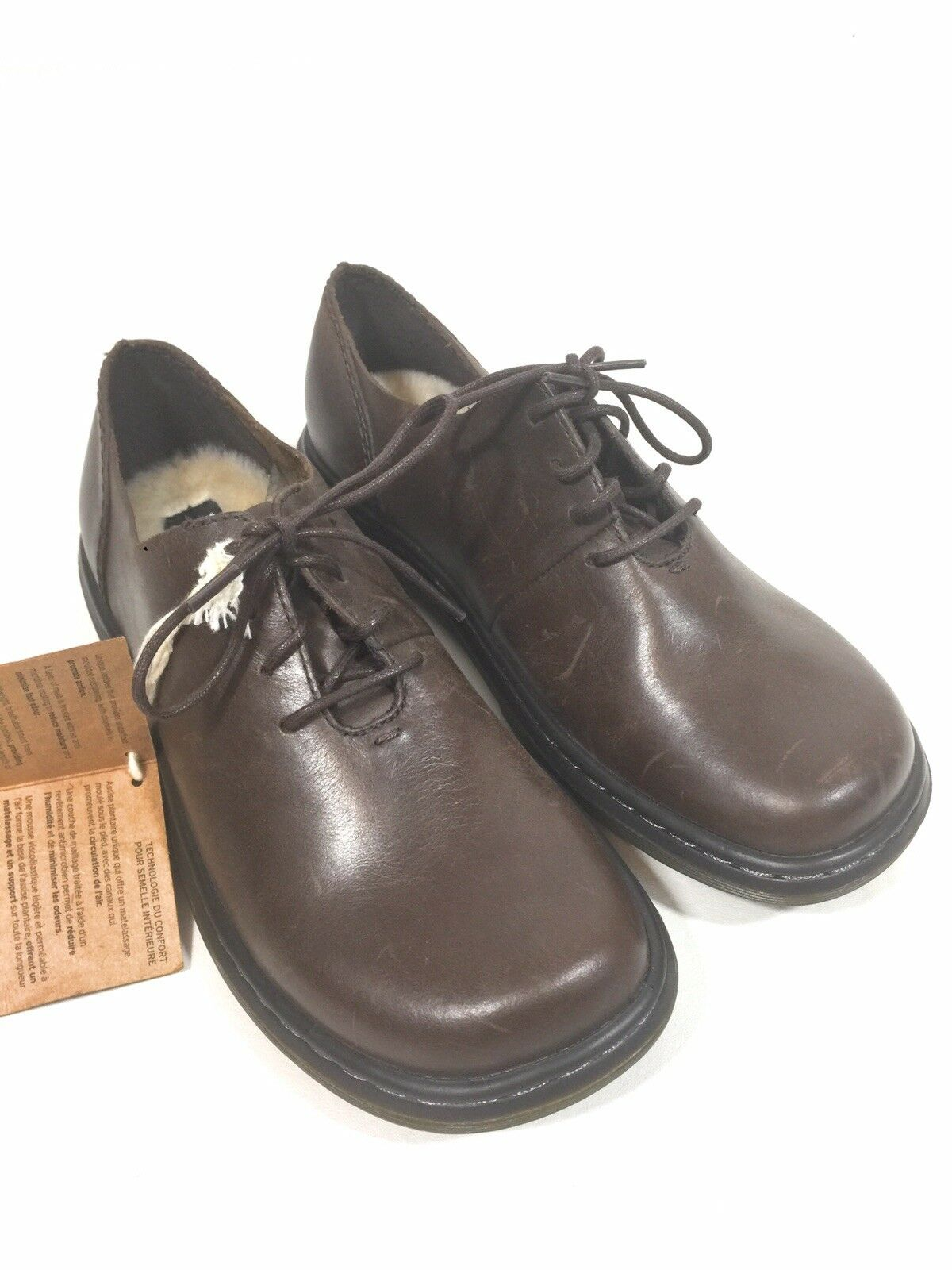 Dr. Martens Women's Lorrie III Brown Oily Illusions Lace Up shoes Size 7 New