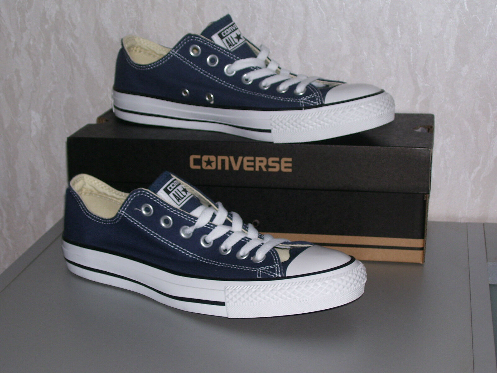 Converse All Star Chucks OX low navy blau dunkelblau Kult Grösse 36 bis 40 neu