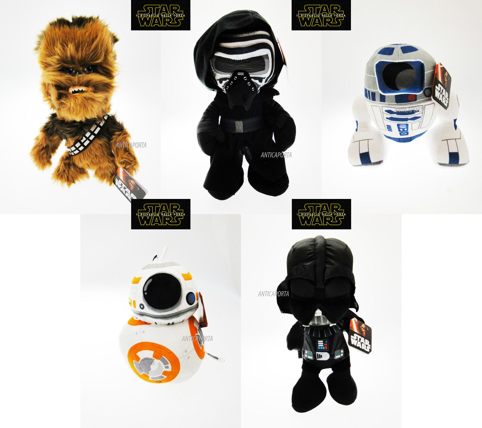 Soft toy Star Wars Original Kilo R2-D2 Chewbacca Darth Dart Vader BB-8 2016