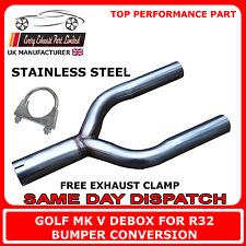 Golf Mk5 ratificación caja posterior trasera eliminar y Tubo para la conversión de parachoques TDI R32