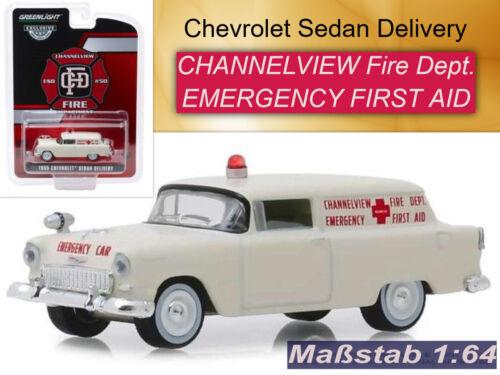 Chevrolet sedan delivery CFD GreenLight 1:64 OVP nuevo