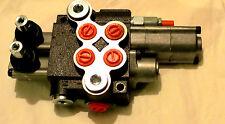 Hydraulikventil Handsteuerventil  2-fach 50 L / 1x doppelw.1xSchwimmstellung