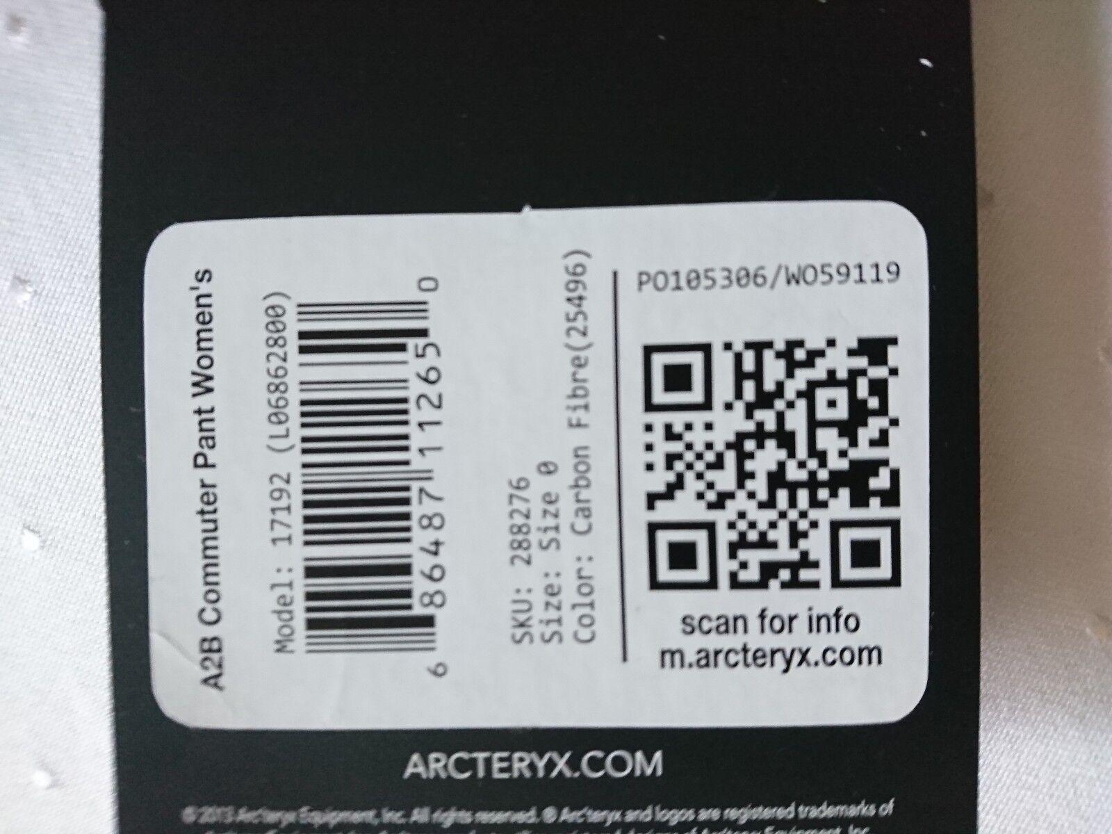 Damen Hosen Arc'Teryx Arc'Teryx Arc'Teryx A2B COMMUTER PANTS faa576