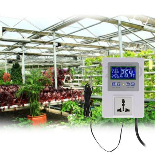 AC 110-240V TMC-2000 LCD Digital Temperature Controller Thermostat with Sensor