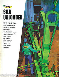 Details about Farm Equipment Brochure - Badger - 2400 3600 - Silo Unloader  Blower (F4164)