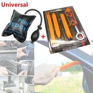 12pcs Car Open Dash Audio Panel Pry Refit Tools W/ Door Air Pump Wedge Trim Kit Apparence éLéGante