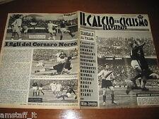 IL CALCIO E CICLISMO ILLUSTRATO 1963/15=BUGATTI=INTER FIORENTINA=MANTOVA MILAN=
