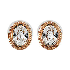 Image Is Loading Swarovski Arrive 5036772 White Oval Crystal Rose Gold