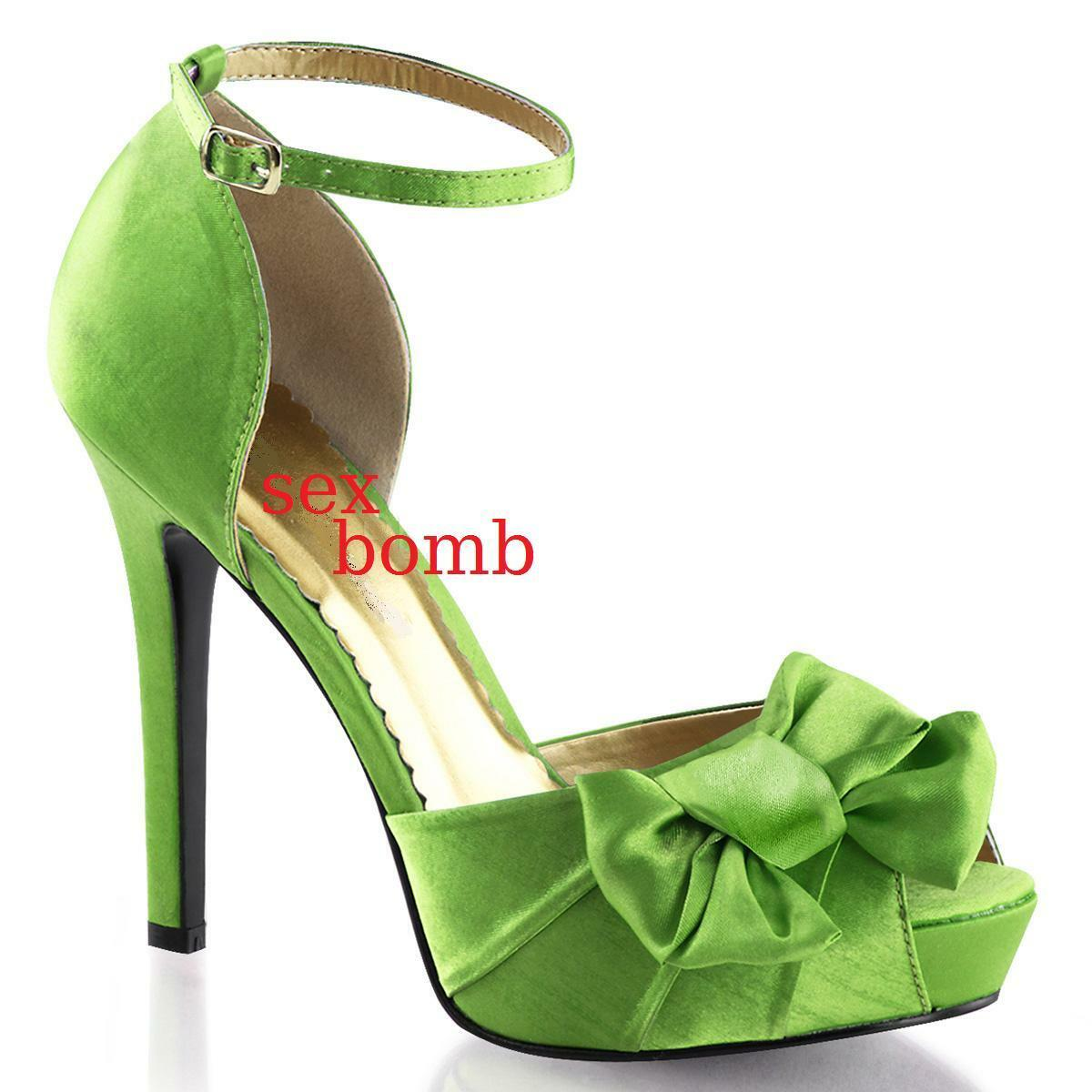 Sexy éscarpins heel 12 35-41 applegreen plateau shoes peep toe