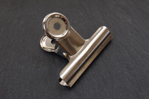 Briefklammer Metall silberfarben 38mm Klemmer