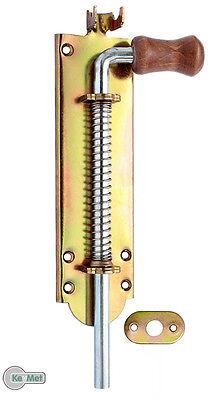 Federriegel Torriegel Bolzenriegel Türriegel 190 / 10 mm Verzinkt