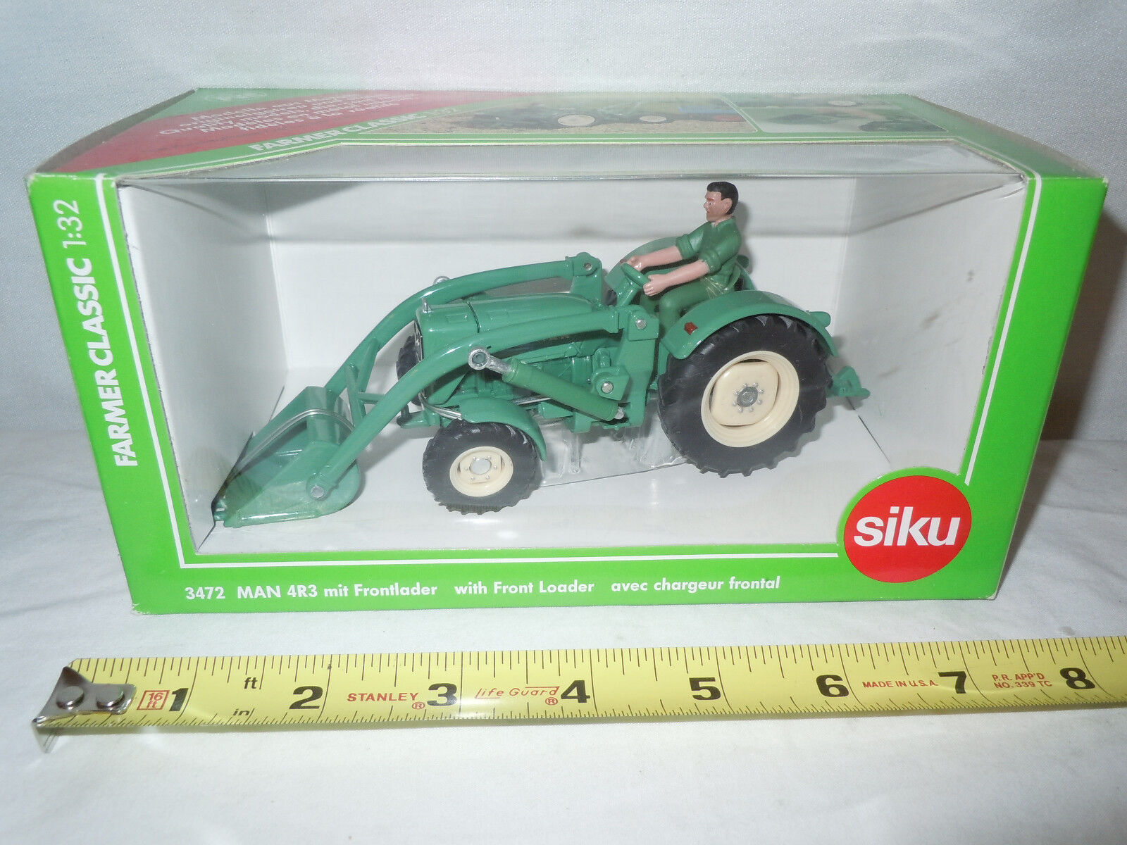 MAN 4R3 Tractor With Loader  By Siku  1 32nd Scale