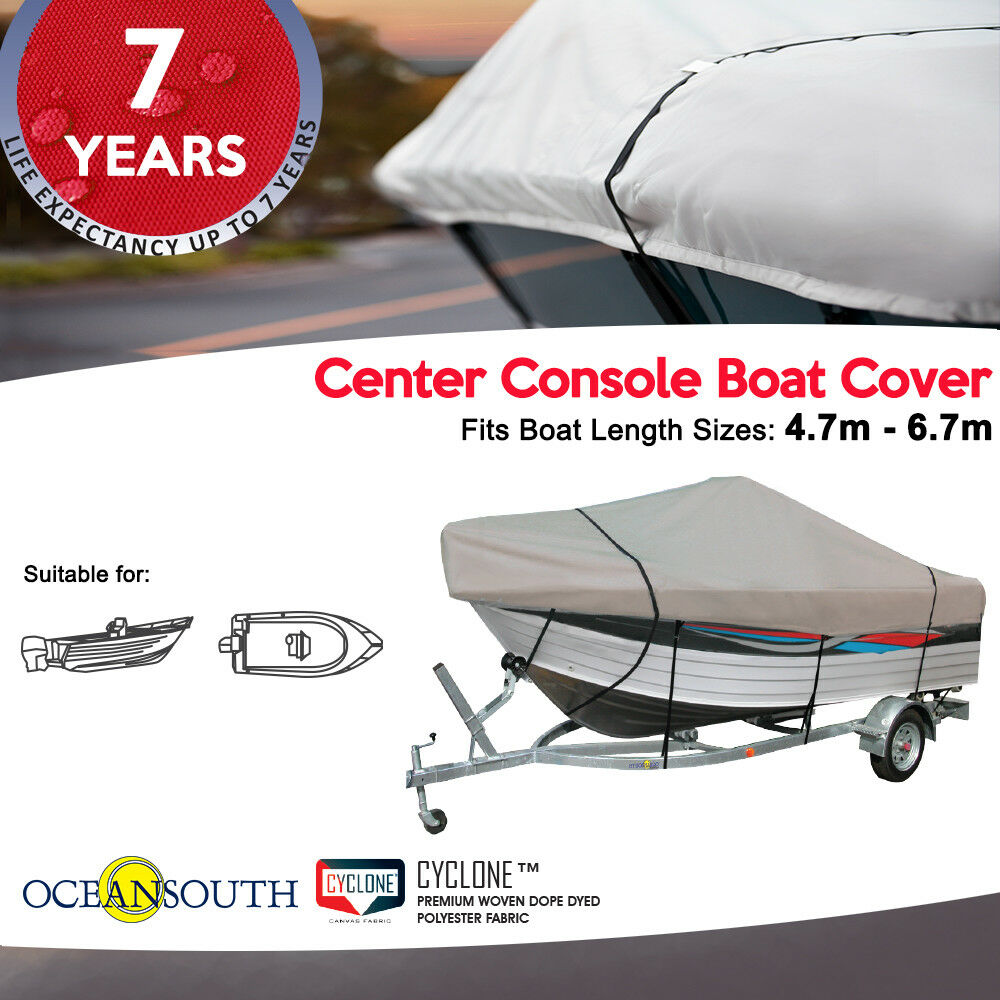 Oceansouth Center Console Boat Cover