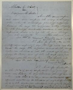 Abraham Lincoln Signed and Handwritten Legal Document, Signed 5 Times. JSA