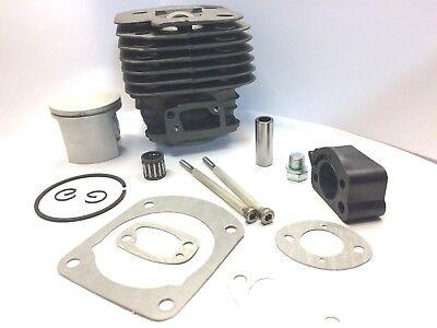 52mm Cylinder Piston Kit For Husqvarna 162 266 266SE Big Bore Saw Nikasil Coated