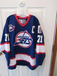 outlet store cb476 71974 Details about Vintage 1972-1996 Winnipeg Jets Final Year CCM Hockey Jersey  size adult XL VGC